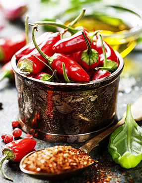 Spice up your life to start burning more calories!