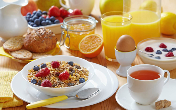 Make sure your breakfast is filling!