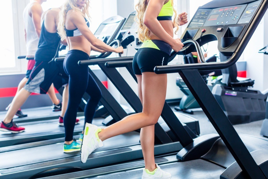 """People running on the treadmill at the gym."""" width=""""1024"""" height=""""682"""" srcset=""""https://i2.wp.com/bestlifeonline.com/wp-content/uploads/2017/07/shutterstock_552783295.jpg?w=1024&ssl=1 1024w, https://i2.wp.com/bestlifeonline.com/wp-content/uploads/2017/07/shutterstock_552783295.jpg?resize=500%2C333&ssl=1 500w, https://i2.wp.com/bestlifeonline.com/wp-content/uploads/2017/07/shutterstock_552783295.jpg?resize=768%2C512&ssl=1 768w"""" sizes=""""(max-width: 1000px) 100vw, 1000px"""" data-recalc-dims=""""1"""