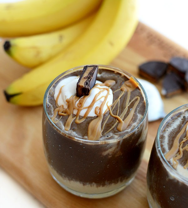 Peanut butter cup weight loss smoothies