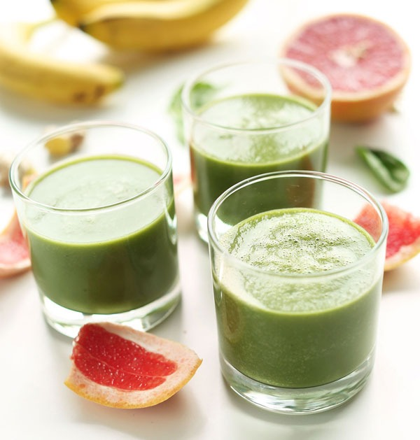 Green citrus weight loss smoothies