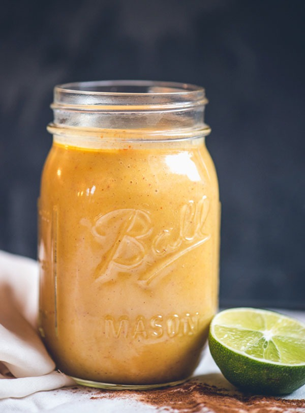 Spiced butternut apple weight loss smoothies