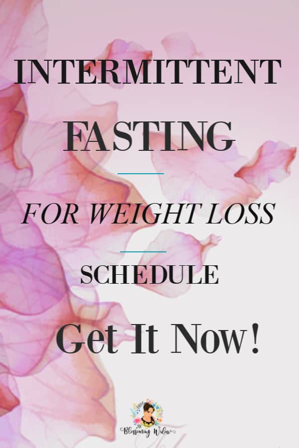 text intermittent fasting for weight loss schedule, get it now