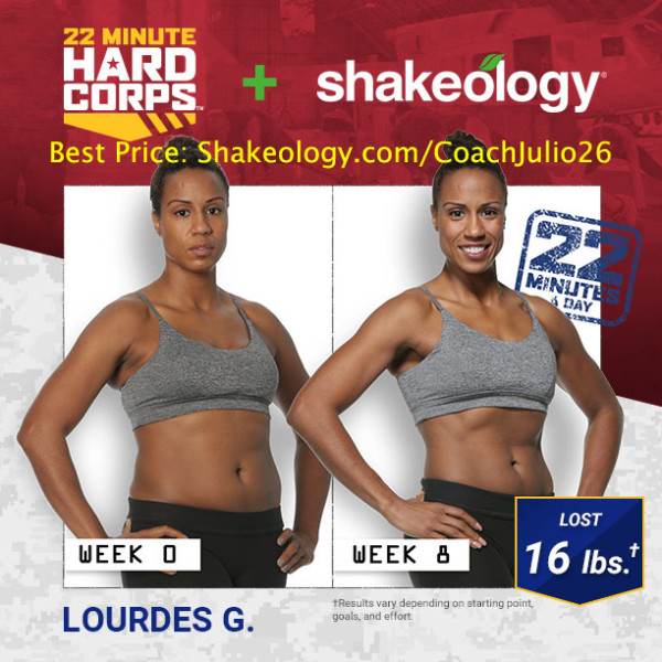 22 Minute Hard Corps & Shakeology Were Exactly What Her Body Needed