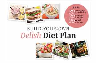 Build Your Own Delish Diet Plan recipe book